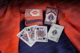 カスタム印刷紙のトランプ、火かき棒、火かき棒のカード