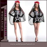Costumes Halloween партии Theatrial черепа взрослый женщины сексуальные причудливый (TENN89126)
