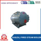 Caldaia a vapore orizzontale automatica del gas di olio con il collettore di polveri di Multiclone