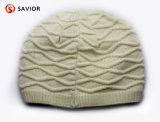 流行の編まれた暖かい帽子は帽子の帽子のアクリルの編まれたToqueの冬によって編まれた帽子の冬を編んだ