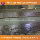 Desgaste elevado do cromo - placa composta resistente