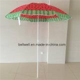 Промотирование рекламируя зонтик пляжа солнцезащитный крем