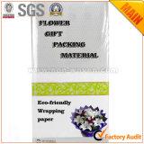 Nichtgewebtes Silber des Blumen-Geschenk-Verpackungsmaterial-Nr. 39