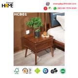 2017의 왕 침실 무대 디자인 나무로 되는 침대 (HCA01)