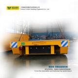 Carro liso do trilho do reboque do transporte da indústria de aço