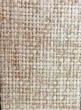 Papier peint respectueux de l'environnement fabriqué à la main matériel normal de Grasscloth de revêtement de mur--Cnbm