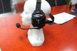 Hinter dem Haupttypen Hochleistungsgeräusche, die Kopfhörer für bidirektionalen Radio beenden