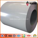 Striscia di alluminio rivestita di colore per uso dell'interno