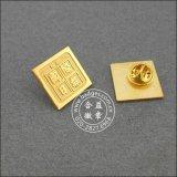 Pin отворотом эмали OEM/ODM мягкий, изготовленный на заказ значки (GZHY-SE-025)