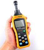 Appareil de contrôle de rotation de vitesse de contact de tachymètre de Ms6208A Digitals