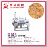 Cadena de producción de sistema de la cocción al vapor de la pelotilla del bocado (palillo del camarón/galleta de la gamba)