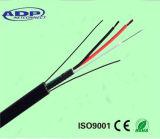 Fil composé composé de pouvoir d'Optcial GYXTW de câble de fibre optique de câble