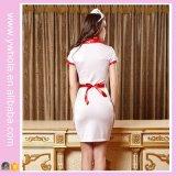 Biancheria uniforme 2016 del costume di natale della domestica della Camera del personale dell'hotel per le donne