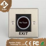 ステンレス鋼空のドアのための接触出口ボタン無し
