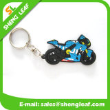 Presentes promocionais Custom Logo Rubber Key Chain Product (SLF-KC017)