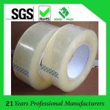 / Transparente personalizada adhesiva de BOPP / OPP de cinta de embalaje transparente