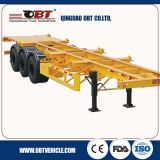 반 Traielr 3axle Skeleton Semi Trailer