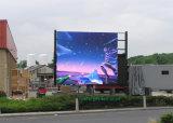 Pared video a todo color impermeable al aire libre de P8 LED para hacer publicidad