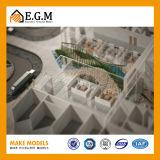Модель здания модели/проекта авиапорта Maktoum/модель здания/модели селитебного здания/модель общественного здания/весь вид знаков