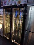 Холодильник флористической индикации 3 дверей для магазина цветка