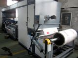 D-Tagliare una stampatrice non tessuta dello schermo del sacchetto di acquisto di una stampa di due colori