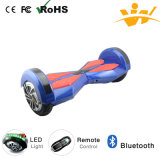 전기 Mobility Scooter 8inch Balancing Electric Scooter Bluetooth LED Light