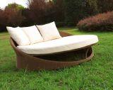 Mond-Rattan-stilvolle Sofa-Sets