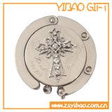 カスタム中心の形の水晶財布のハンガー(YB LYpH01)