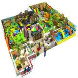 Patio de interior grande de la nave de piratas del juego suave travieso del castillo de los niños