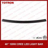 "40 "" 4X4 (TLB1120X)를 위한 Road Light Bar 떨어져 120W Single Row Curved LED"