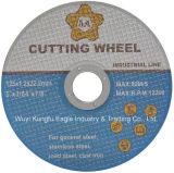 Roda do corte de 5 Ss da polegada, redes dobro pretas que cortam o disco