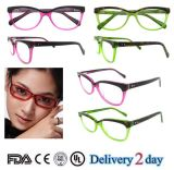 2016 Italie Design Acetate Eyewear Frame for Women