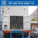 Кислород Азот Танкер СПГ полуприцепа с ASME GB