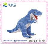 파랑과 Grey T-Rex Dinosaur Stuffed Animal