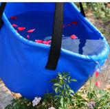 야영하는 옥외 접히는 물 물통 수화 부대 세숫대야 물통 하이킹