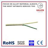 ガラス繊維によって保護される熱電対延長ケーブル