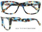 Os Mais Populares Eyewear Atacado Acetato Quadro Óptico para Mulheres