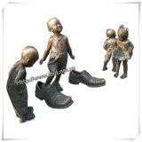 Statua Bronze esterna per la statua di /Garden della statua di /City della decorazione (IO-s021/s022/s023/s024/s025/s026)