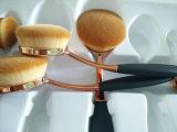 Cepillo oval del maquillaje de la dimensión de una variable del nuevo cepillo de dientes de la manera 2016