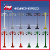 Red e Black classici Snowing Street Light per Christmas Decortion
