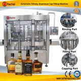 Machine recouvrante remplissante de rhum automatique