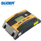 Suoer 12V 24V 10A controlador de carga solar con doble USB Interfaces (ST-C1210)