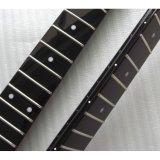 O lustro terminou guitarra da garganta do começo do Headstock da frição do preto 21 a grande