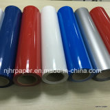 쉬운 Cuting Vivid Color Heat Transfer Film/PU Based Vinyl Width 50 Cm Length All Fabric를 위한 25 M
