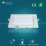Luz de teto de alta qualidade de 20W Luz de painel LED de preço baixo