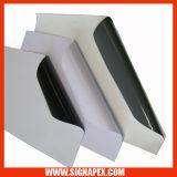 Vinilo auto-adhesivo negro/gris (GAV120)