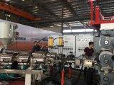 PC do ABS duas linhas extrusora laminada bagagem que faz a máquina