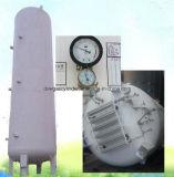 20m3 Loxの低温液化ガスタンク