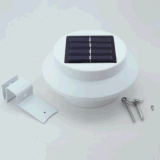 3 LED Solar Powered LED Light Outdoor Light Garden Floor lâmpada LED lâmpada de decoração de parede