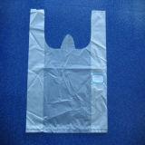 Sac à provisions bon marché en plastique de PE de HDPE